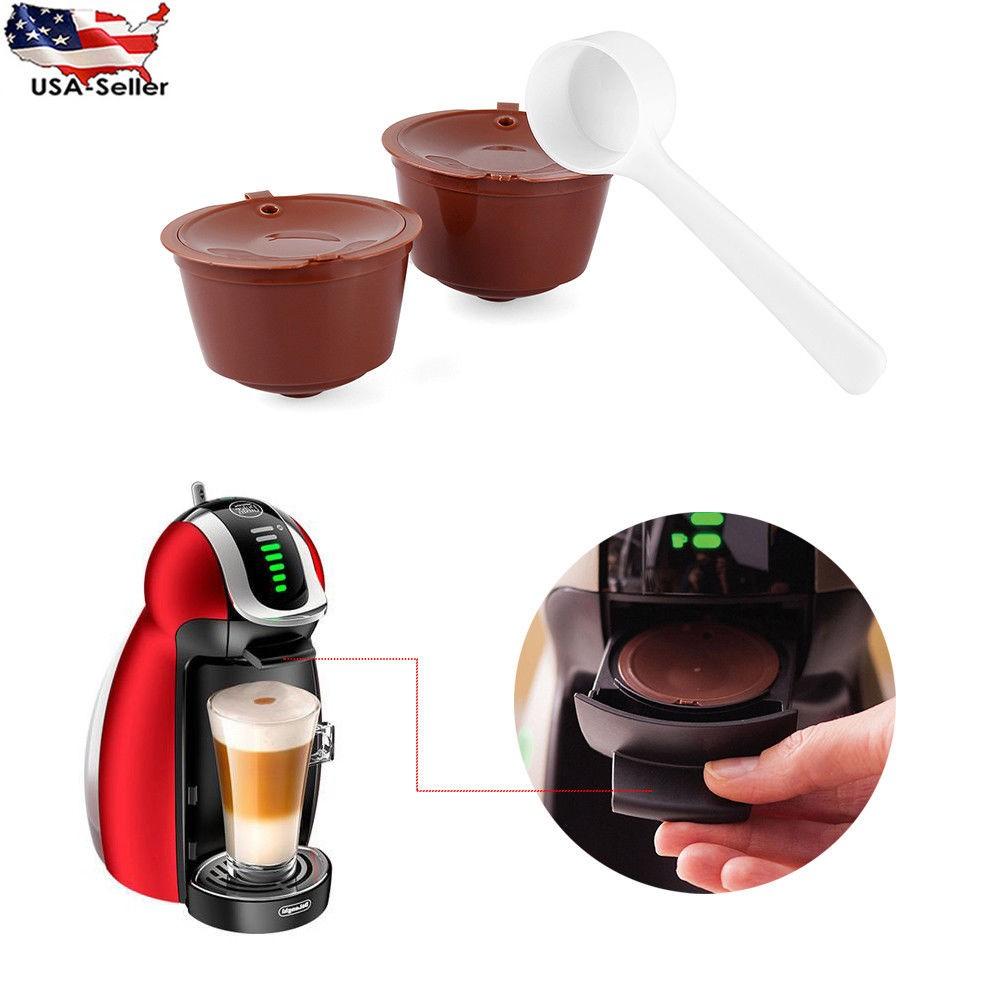 Многоразовая капсула для кофе, чёрный