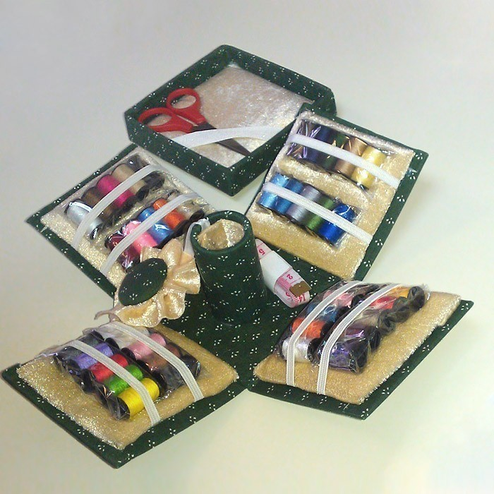 Набор для шитья из 70 предметов «Швея»
