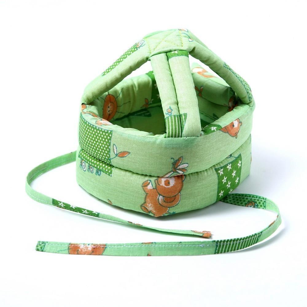 Купить Шапка-шлем противоударный для детей, цвет микс, Товары для новорожденных