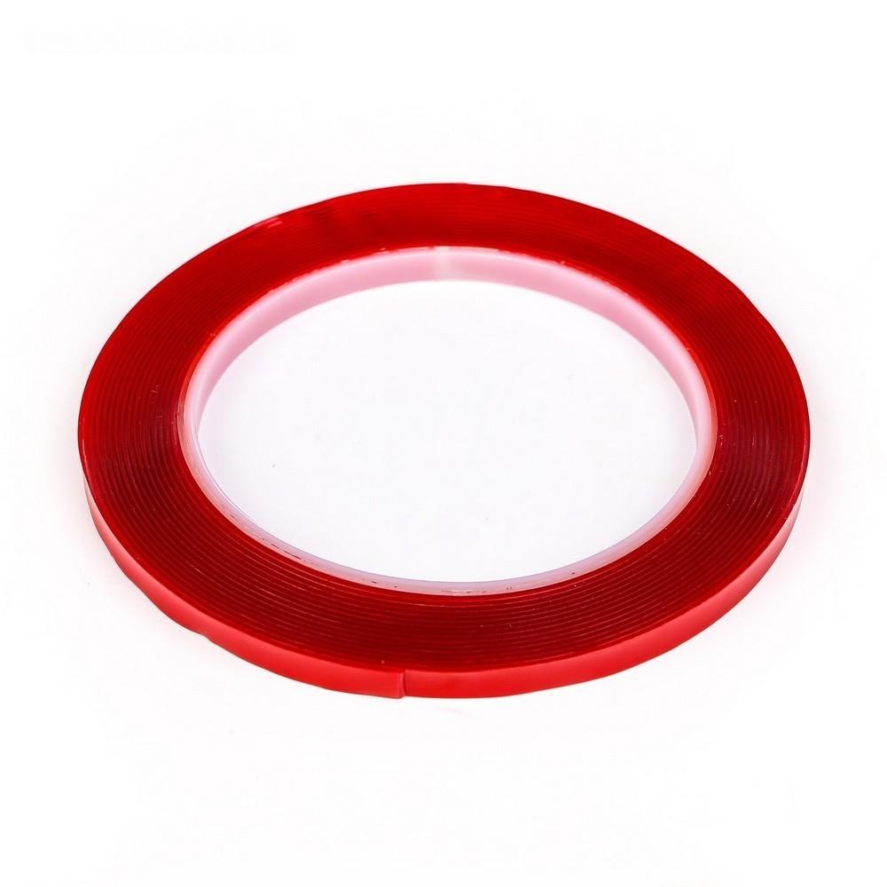 Клейкая лента TORSO, прозрачная, двусторонняя, акриловая, 10 мм х 5 мОстальные инструменты<br>Надоело, что кухонное полотенце вечно падает вместе с крючком? Дозатор для мыла часто переворачивается и летит в ванну? Таких ситуаций в каждом доме случается множество. Избавиться от них вам поможет прозрачная двусторонняя акриловая клейкая лента TORSO!