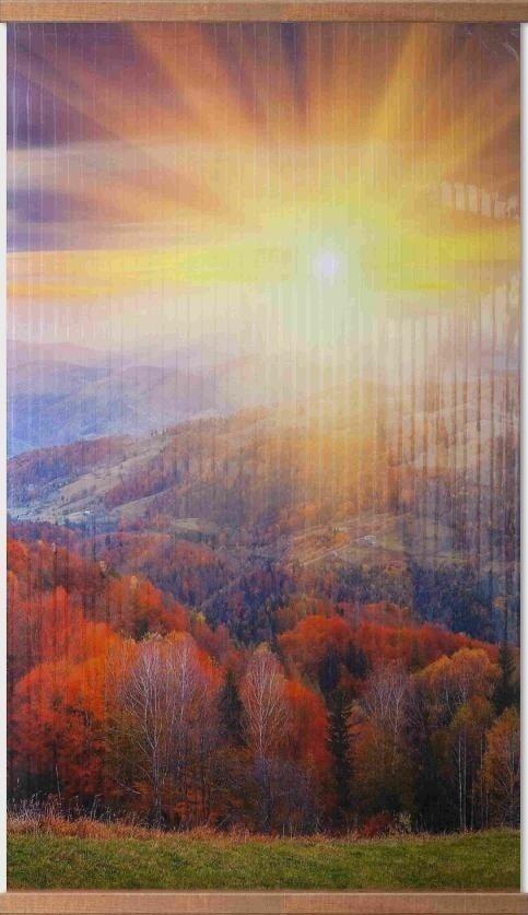 Обогрев настенный Домашний очаг - Осенний лес, 500 Вт