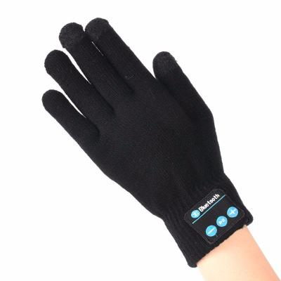 Bluetooth перчатки, черные
