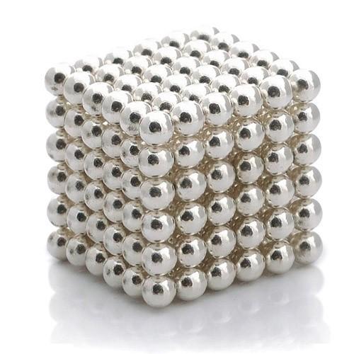 Купить Магнитная головоломка - Куб из шариков, Стальной, Игрушки Антистресс