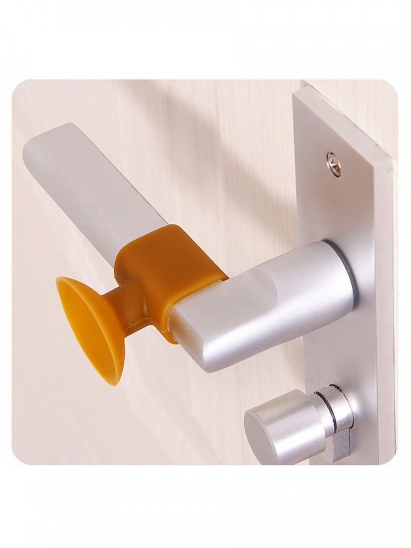 Держатель-присоска для дверей, цвет микс