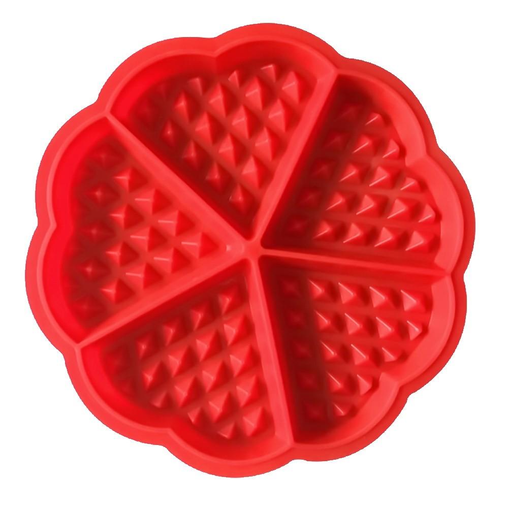 Форма силиконовая для вафель - Сладкие сердца