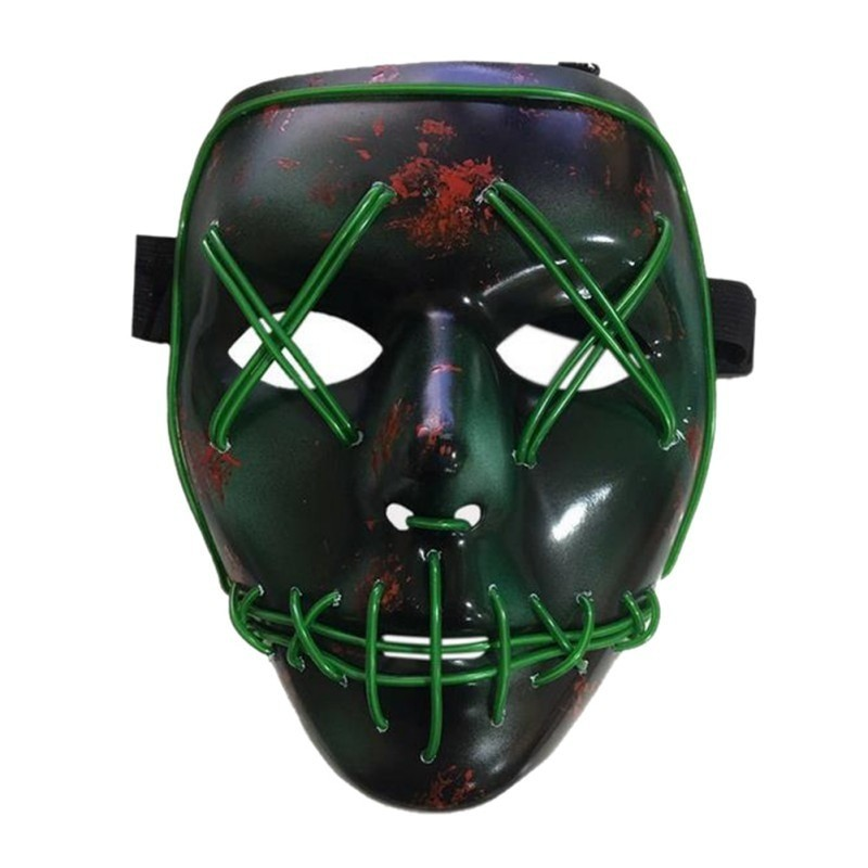 Купить Светящаяся неоновая маска, Маски