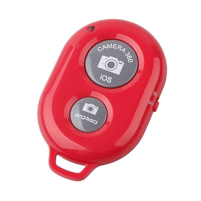Кнопка-Bluetooth для селфи (Ios, Android) розоваяВсе для селфи<br>Любите делать фото самых разных моментов своей жизни? Скорее знакомьтесь с революционной кнопкой-Bluetooth для селфи (Ios, Android) розового цвета. Этот аксессуар умеет делать качественные снимки с большого расстояния, а не с вытянутой руки, как раньше!<br>