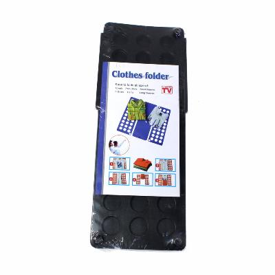 Рамка для складывания детской одежды Star Fold, черныйВсё для сушки<br>Рамка для складывания детской одежды Star Fold – это настоящая находка для тех людей, которые хотят, чтобы вещи были сложены так же аккуратно, как в магазине. Благодаря этому простому аксессуару, вам удастся и грамотно сэкономить место в шкафу!<br>