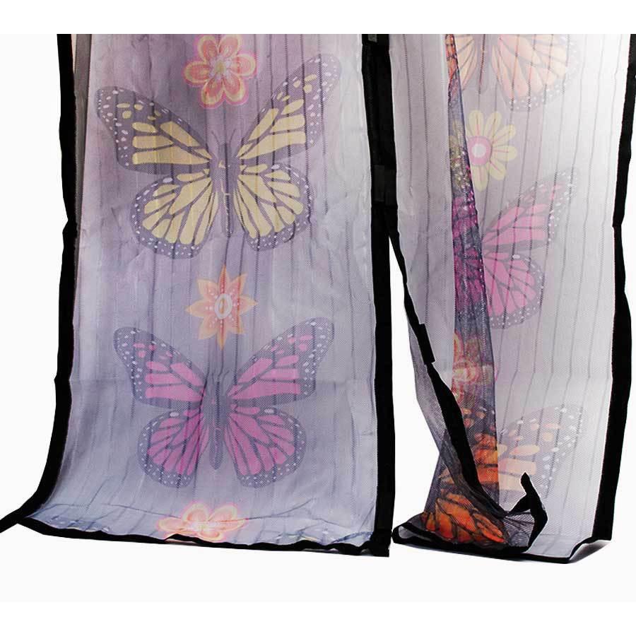 Москитная сетка с бабочками - Magic Mesh Butterfly, 18 магнитов