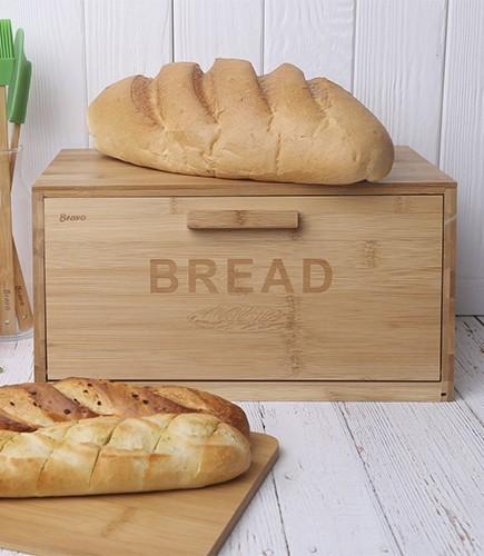 Хлебница 366 Bread - Bravo, бамбук