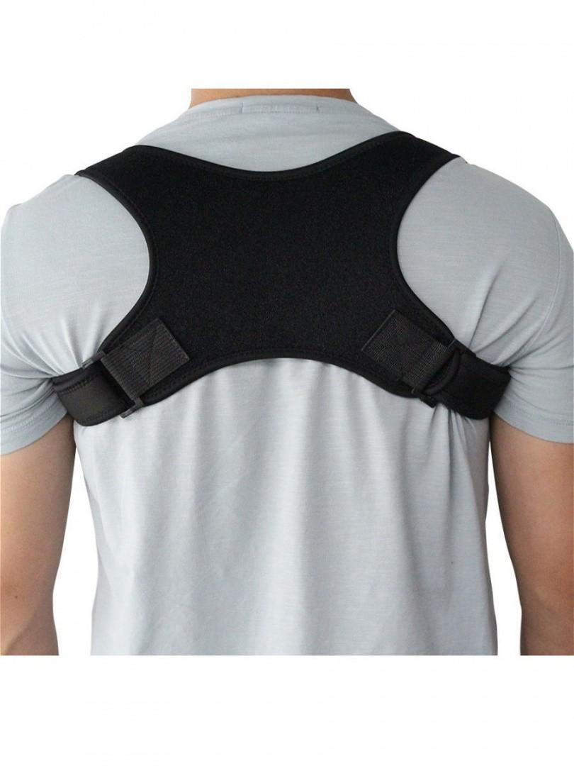 Регулируемый плечевой корректор осанки (универсальный размер)