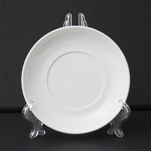 Подставка под тарелку - прозрачная 5х10 см