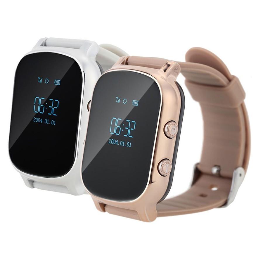 Детские часы с GPS - Smart Baby Watch T58, цвет серебро