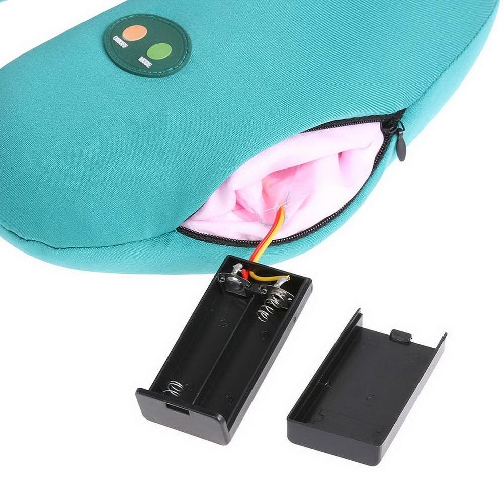 Массажная подушка-подголовник cervical massage