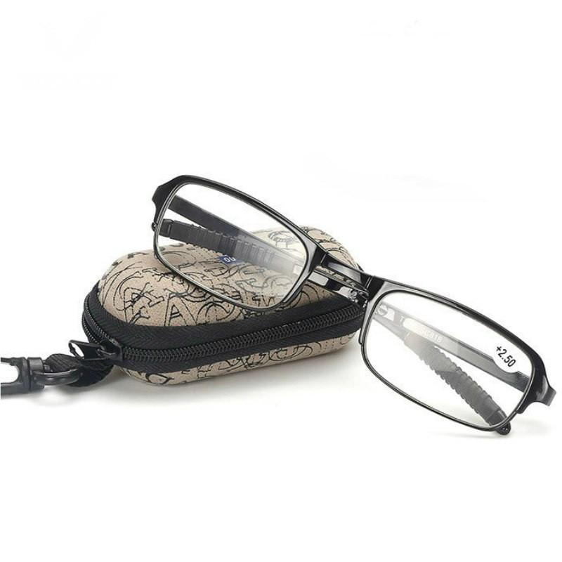 Складные очки - Фокус Плюс, 1 шт. в чехле, черный
