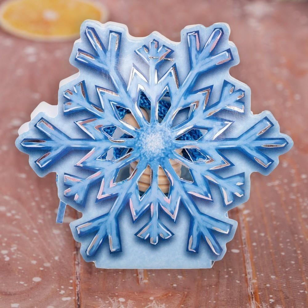 Ароматизатор в фигурной упаковке — Снежинка