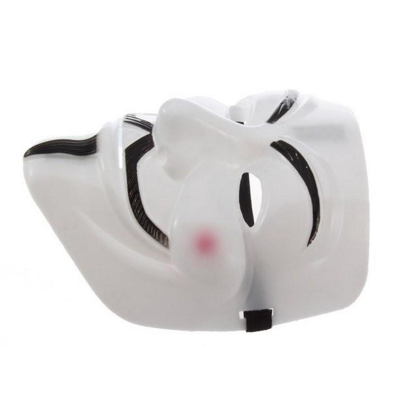 Маска Гая ФоксаМаски<br>Хотите на костюмированной вечеринке быть не просто зайцем, мышкой или клоуном? Вы можете стать самым ярким гостем, с которым каждый из присутствующих захочет сфотографироваться, благодаря маске Гая Фокса!<br>