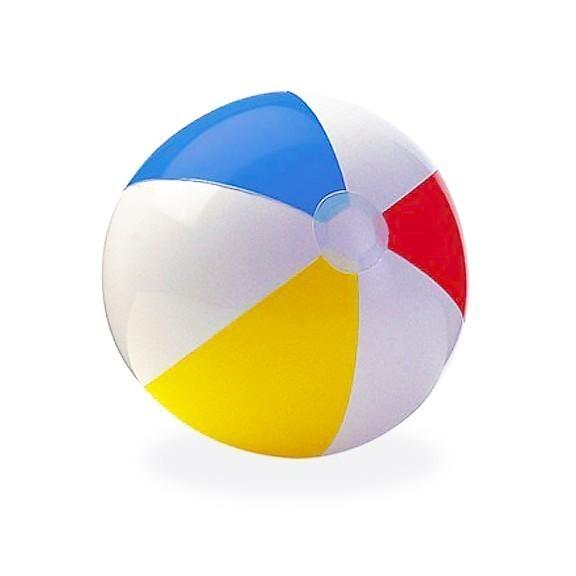 Мяч пляжный цветной 61 см, от 3 лет