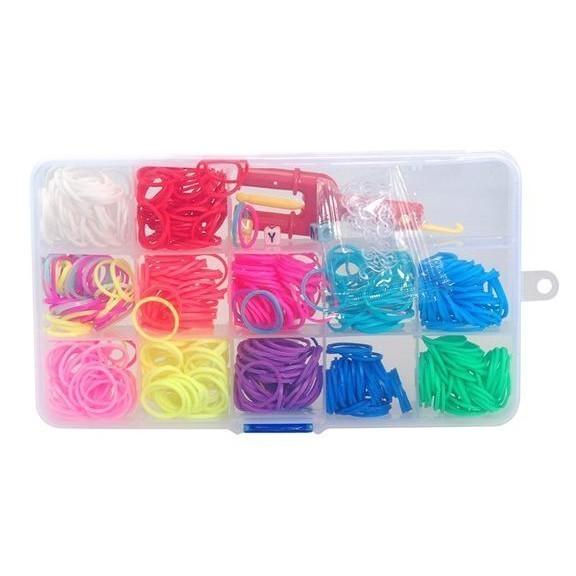 Радужки (Rainbow Loom) — набор для вязания из резинок