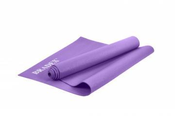 Коврик для йоги 173*61*0,3, фиолетовый фото