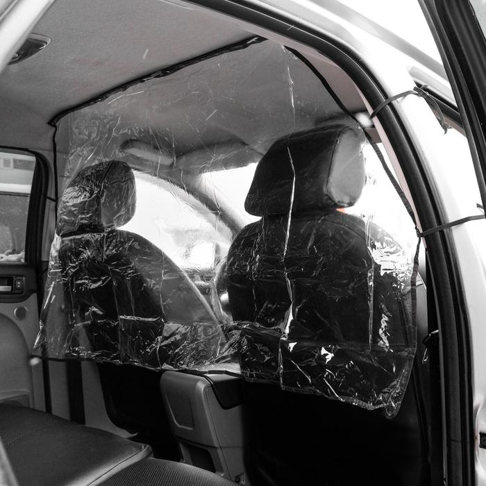 Экран защитный для такси - Антивандальный