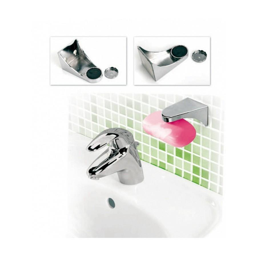 Мыльница магнитная - ГигиенаДозаторы для мыла<br>Разваливающее размокшее мыло – это проблема каждой ванной комнаты. Как решить ее? Очень просто! Вам поможет магнитная мыльница Гигиена. «Умное» изделие избавит вас от надоедливой закисшей воды в мыльнице, плесени и грибка.<br>