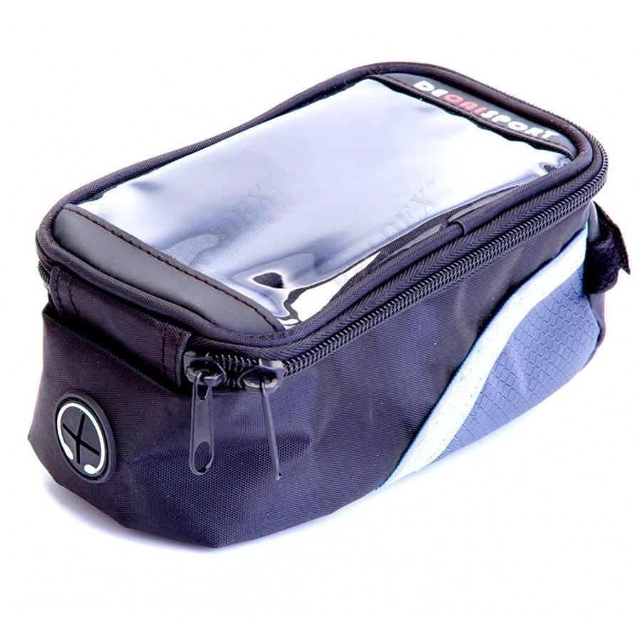 Сумка велосипедная объемом 1,2 л., с зеленым элементомСумки и рюкзаки<br>Любите кататься на велосипеде? Тогда вы точно хотя бы несколько раз задавались вопросами: «А где расположить нужные вещи? Как не разбить телефон, если он в кармане?» Сумка велосипедная объемом 1,2 л., с зеленым элементом позволит вам быстро избавиться от подобных проблем!<br>