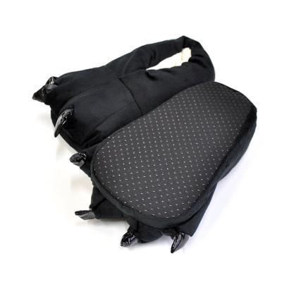 Тапочки кигуруми (тапки-лапы) в ассортименте, детские, размер универсальный, Черный фото