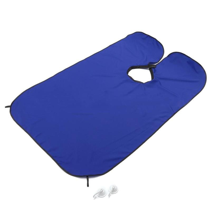 Стильный фартук для стрижки бороды, цвет в ассортименте, Синий