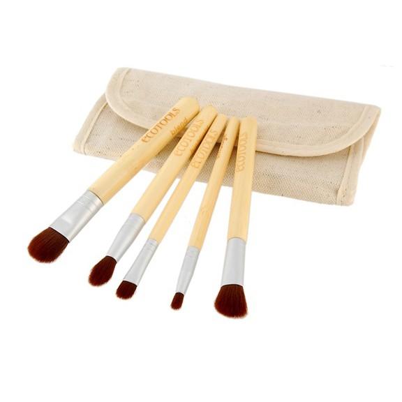 Набор для макияжа EcoTools - зеркало и 5 кисточек