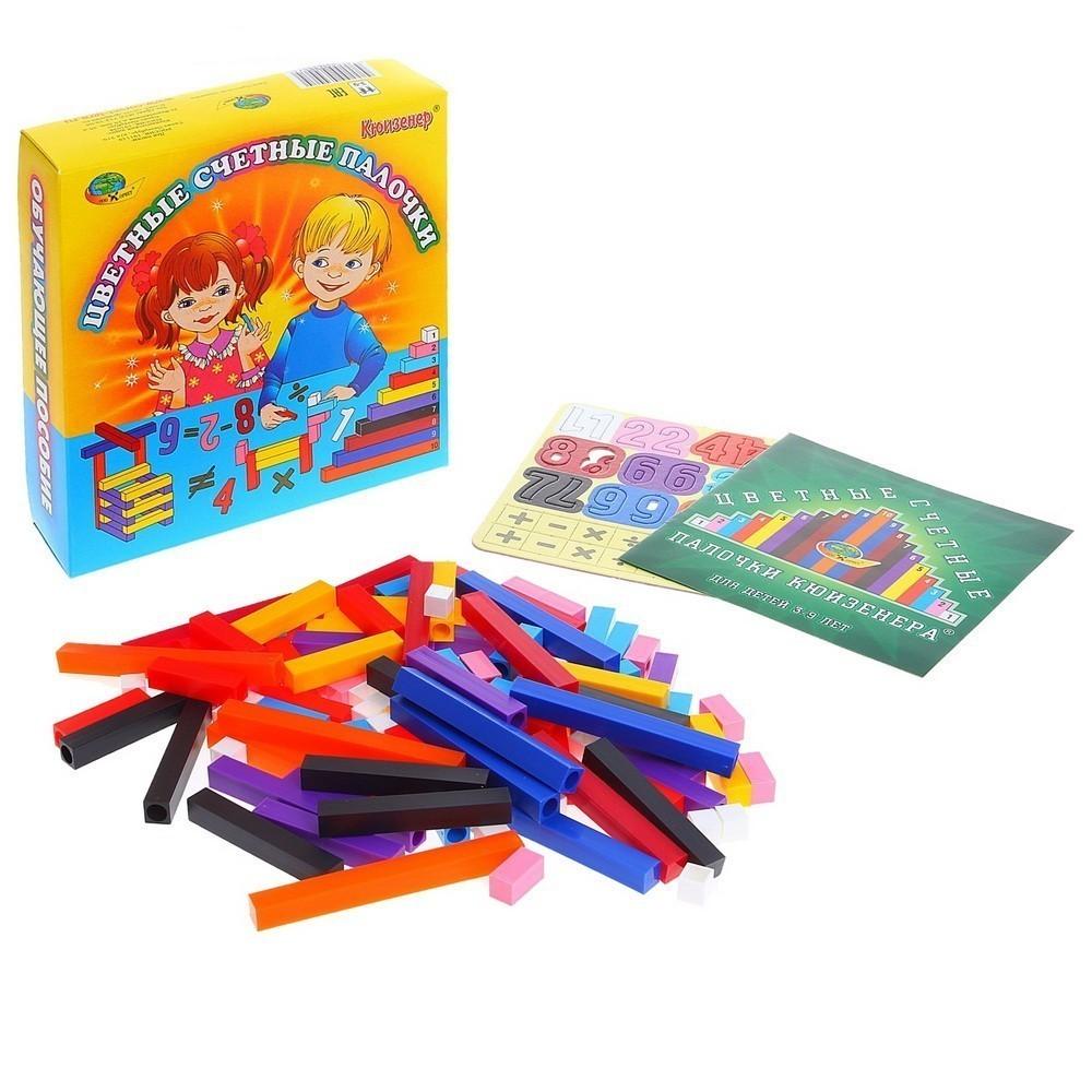 Цветные счётные палочки Кюизенера фото