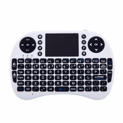 i8 - беспроводная мини клавиатура с тачпадом, белаяОстальные гаджеты<br>Если вы являетесь истинным ценителем инновационных технологий, то обязательно оцените по достоинству новую беспроводную мини клавиатуру с тачпадом i8, которую в интернет магазине Мелеон можно купить по смешной цене!<br>