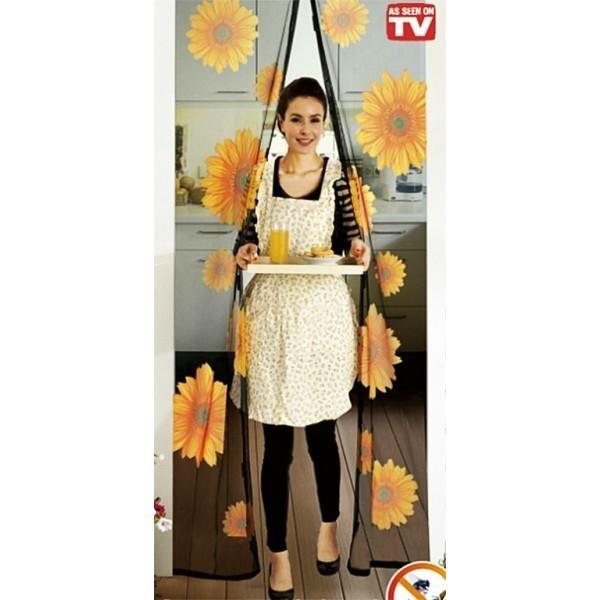 Москитная сетка с подсолнухами - Magic Mesh Sunflower, 18 магнитов от MELEON