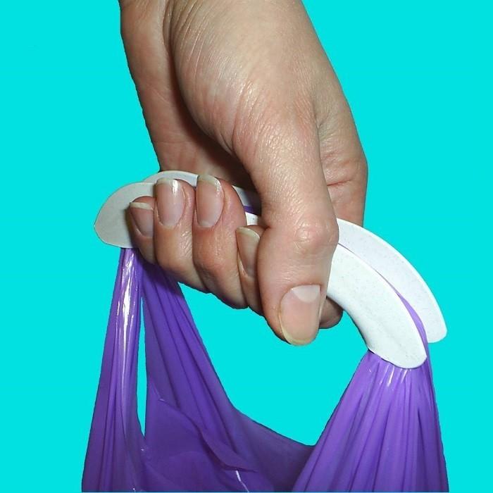 Ручки для пакетов своими руками