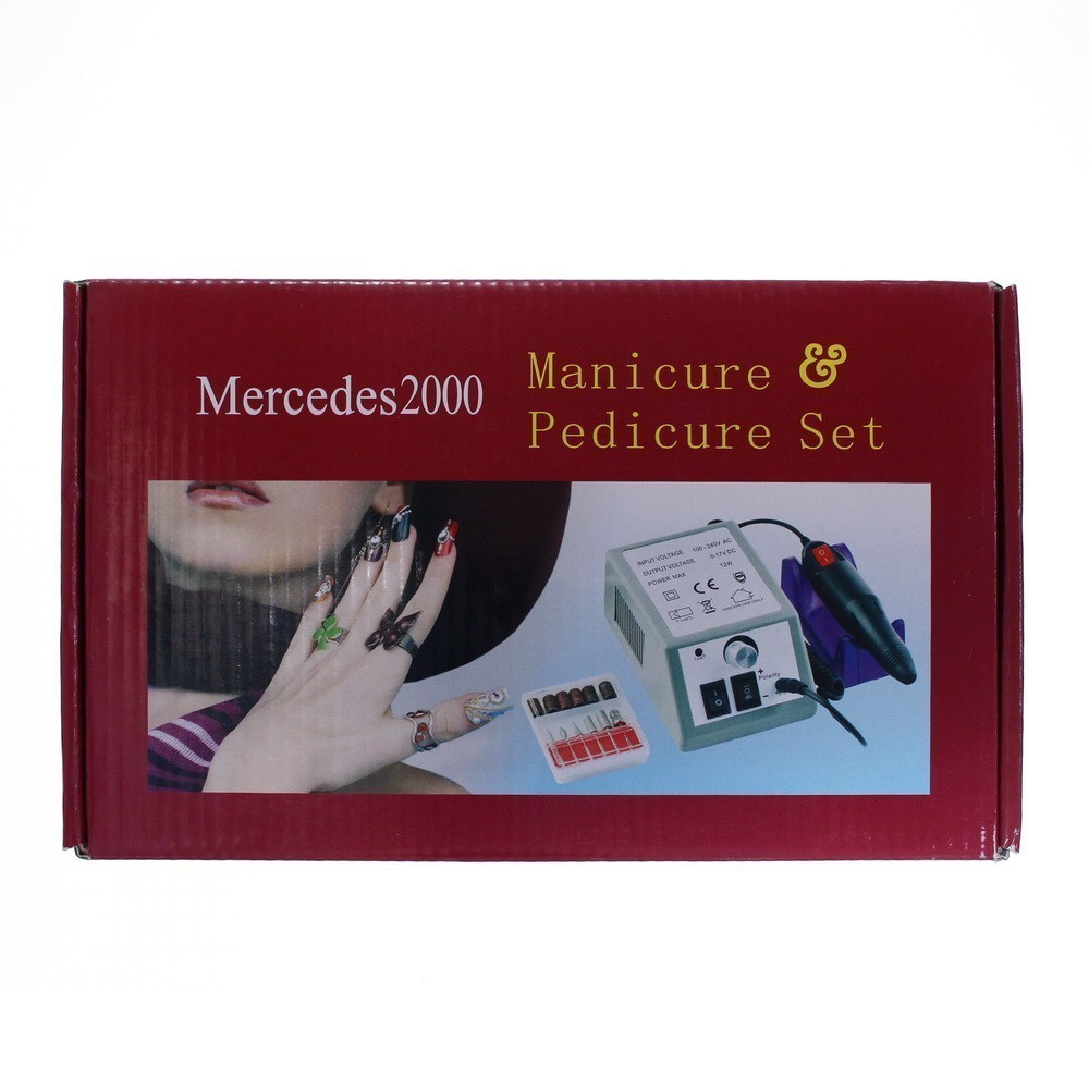 Машинка для маникюра и педикюра Mercedes 2000
