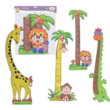 Купить Ростомер, до 160 см, 45*33, 5 см, дизайн микс, Товары для новорожденных
