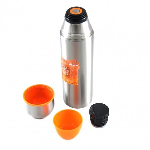 Термос BIOSTAL -Спорт NBP-1200Термосы<br>Термос Biostal Спорт NBP-1200 – аксессуар, в котором предусмотрена узкая горловина, благодаря которой ни одна капля ароматного кофе или чая не прольется мимо вашей чашки. Существенное достоинство модели Biostal Спорт NBP-1200 заключается в ее комплектации – так, к ней прилагаются две небольших чашки, позволяющие насладиться любимыми напитками с максимальным комфортом.<br>
