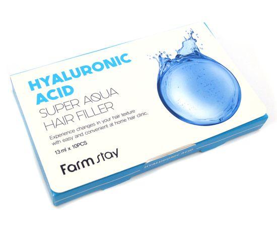 Филлер с гиалуроновой кислотой Farm Stay Hyaluronic Acig Super Aqua Hair Filler, 13 мл