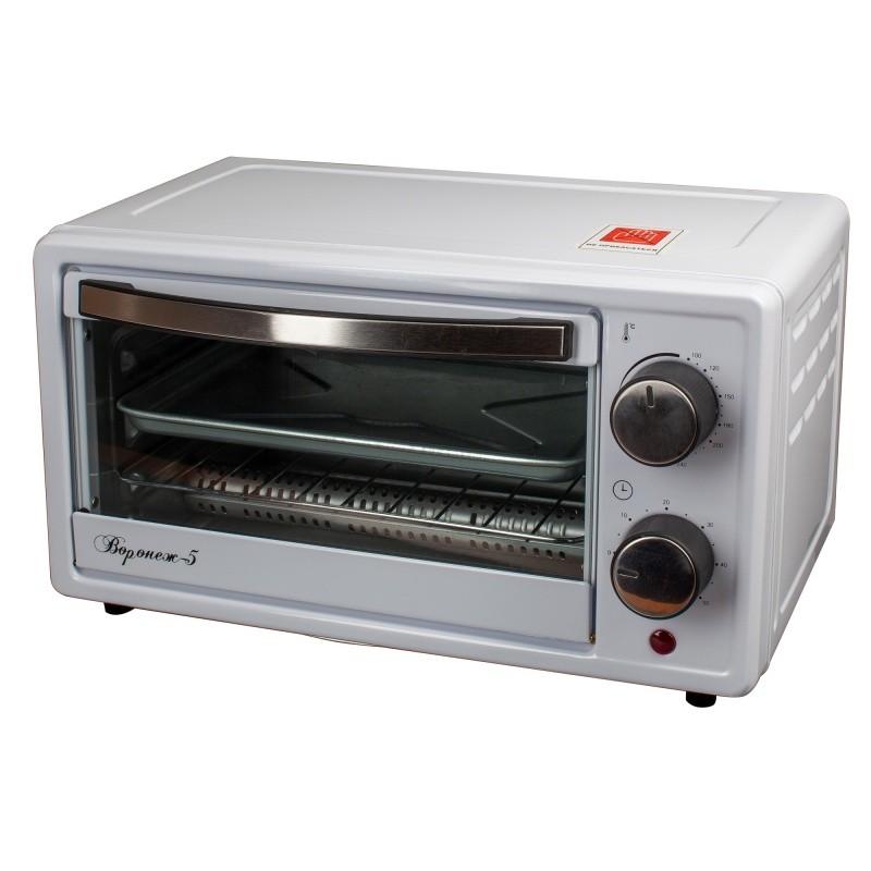 Жарочный шкаф Великие Реки Воронеж-5, 900 Вт, 9 литров, таймер на 60 минут, функции духовки, гриля, тостера, быстрый нагрев, компактный размер