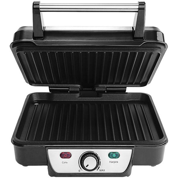Электрогриль  1626-KTГрили<br>На электрическом гриле Kitfort КТ-1626 вы сможете жарить стейки, колбаски, рыбу, морепродукты и овощи, готовить горячие бутерброды.<br>