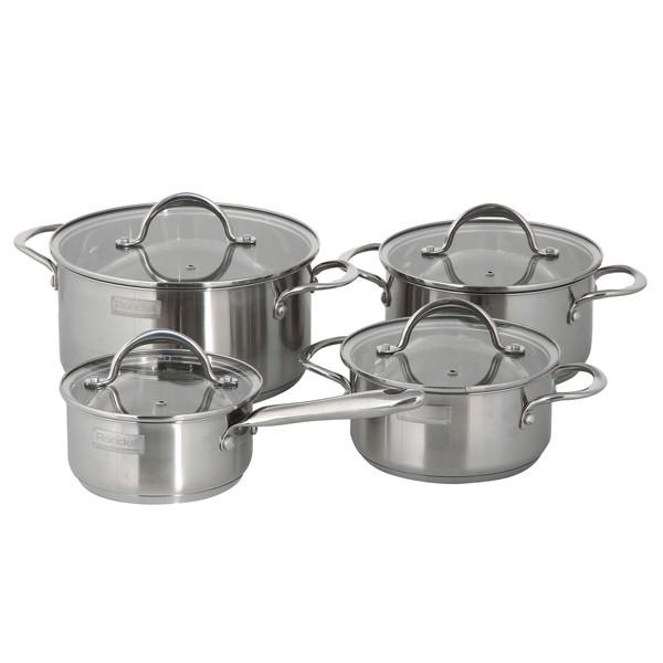 Набор 8 предметов Destiny RDS-744Кастрюли<br>Практичный в повседневном использовании набор посуды RONDELL станет идеальным решением для постоянного использования в быту.<br>