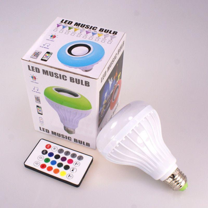 Умная лампочка-колонка Led Music Bulb