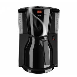 Кофеварка Melitta Look IV Therm Basic чернаяКофеварки и кофемашины<br>Кофеварка Melitta Look IV Therm Basic ? великолепное решение для истинных поклонников крепкого бодрящего напитка. Простая, но максимально удобная конструкция прибора позволит вам без труда приготовить около 8-12 чашек натурального кофе, который подарит вам бодрость на целый день.<br>