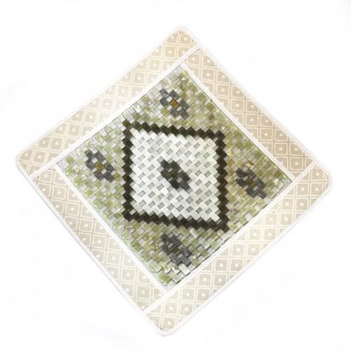Нефритовый коврик - квадратный Люкс, 43х43 см