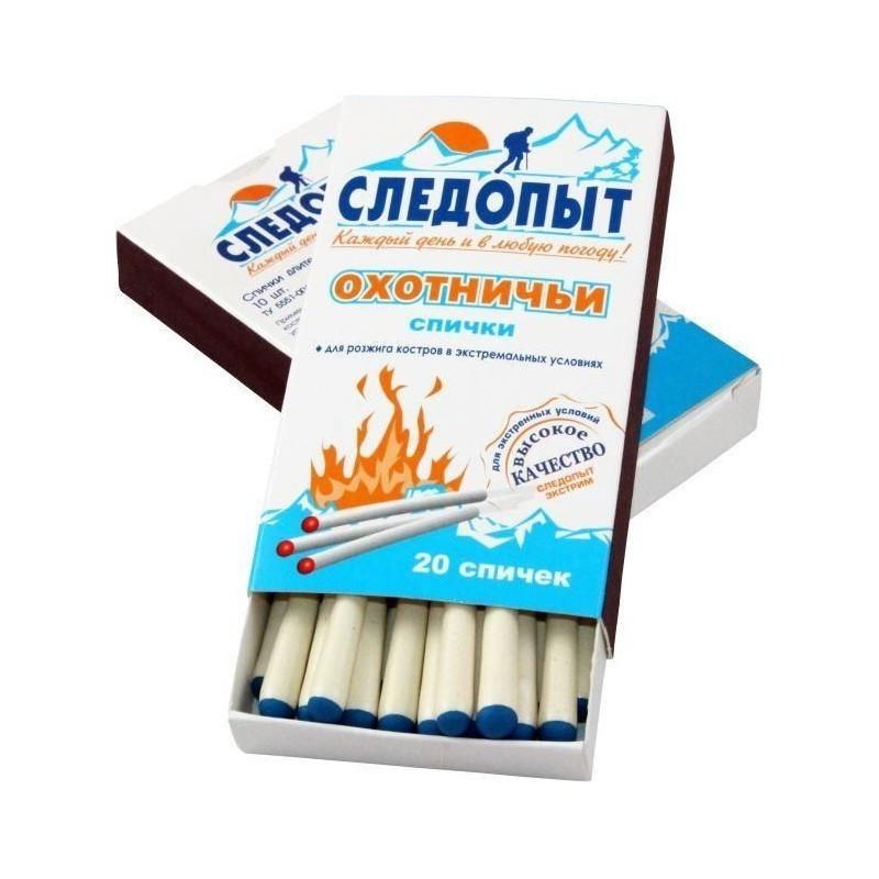 Спички охотничьи Следопыт-Экстрим, 20 шт.