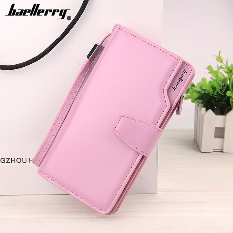 Портмоне клатч женское Baellerry Woman — розовый