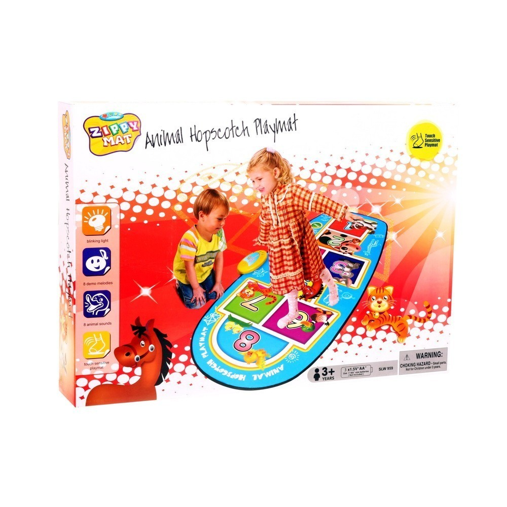 Купить Игровой музыкальный коврик Animal Hopscotch Playmat, Электронные игрушки