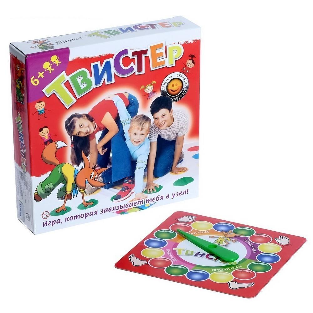 Купить Игра - Твистер 6+, Подвижные игры