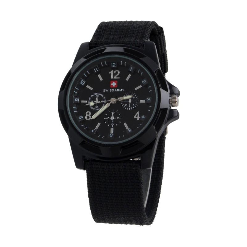 Часы Swiss Army - черные фото