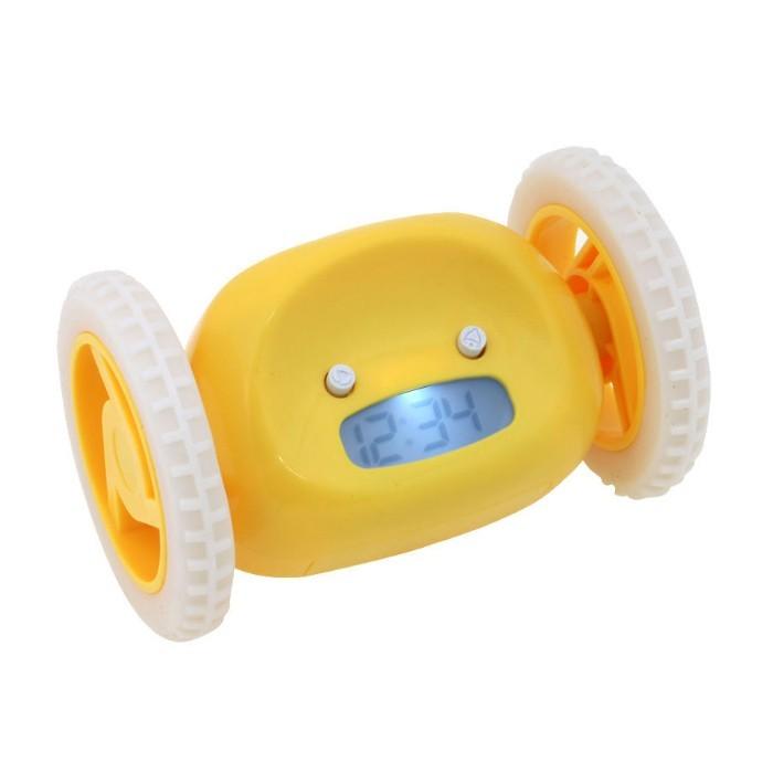 Убегающий будильник Alarm Clocky Run - желтыйЧасы и будильники<br>Убегающий будильник Alarm Clocky Run поможет Вам перестать поддаваться слабостям  и переносить пробуждение. Традиционные будильники не имеют в свое распоряжение средств к защите от Вашего доступа для перестановки времени.<br>